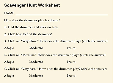 Tempo Worksheet Worksheets for all | Download and Share Worksheets ...