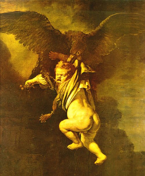 sample cover letter resume_05. zeus. Ganymede carried by Zeus