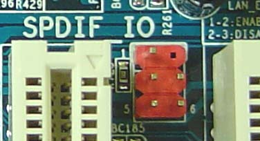 SPDIF on a Motherboard