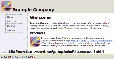 How To Use Templates To Manage Your Website In Dreamweaver Cs3